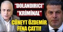 CÜNEYT ÖZDEMIR - Cüneyt Özdemir, Merdan Yanardağ'a fena çattı: Dolandırıcı...