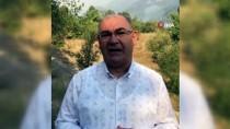 Adana'daki Orman Yangını Drone İle Havadan Görüntülendi