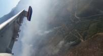 Adana'daki Orman Yangını Vadiye Hapsedildi