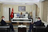 Ağrı Milli Eğitim Müdürü Tekin, Doğubayazıt Kaymakamı Akpınar'a 'Hayırlı Olsun' Ziyareti