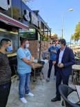 Akçakoca'da Maske Ve Sosyal Mesafe Denetimi Yapıldı