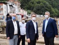 Başkan Yıldız'dan Giresun'a Geçmiş Olsun Ziyareti