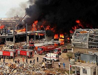 Beyrut Limanı'nda ikinci yangın!