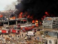 BEYRUT - Beyrut Limanı'nda ikinci yangın!
