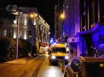 İki Yıl Önce 4 Kişinin Yanarak Can Verdiği Bina Yeniden Alevlere Teslim Oldu