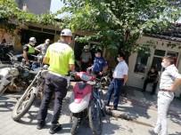 Manyas'ta Maske Takmayan 25 Vatandaşa Ceza Yazıldı