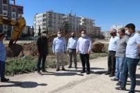 Viranşehir'de Tren Yolu Park Çalışmaları Başladı