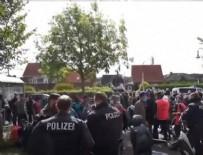 ARBEDE - Alman polisi PKK sempatizanı dövdü!