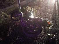 Motosikletten Savrulan Yaşlı Adam Hayatını Kaybetti