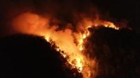 Pozantı'daki Orman Yangınına Müdahale Devam Ediyor