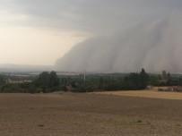 Eskişehir'de Kum Fırtınası Çıktı