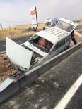 Midyat'ta Trafik Kazası Açıklaması 2 Yaralı