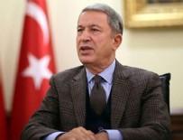 DENİZ KUVVETLERİ - Milli Savunma Bakanı Akar, SAT personeliyle bir araya geldi