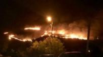 ÖĞRENCİ YURTLARI - Gökçeada'da korkutan yangın!