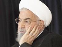 DONALD TRUMP - İran Cumhurbaşkanı Ruhani: Petrol gelirimiz 120 milyar dolardan 20 milyar dolara geriledi