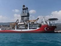 KARADENIZ - 'Kanuni' Karadeniz'de sondaja hazırlanıyor