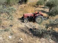 Manisa'da Traktör Kazası Açıklaması 1 Ölü
