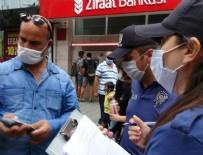 POLİS EKİPLERİ - Maske takmayan vatandaştan polise tehdit!