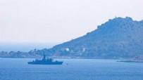ANTALYA - Meis Adası açıklarında askeri hareketlilik!