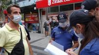 (Özel) Maske Takmayan Vatandaştan Polise Tepki Açıklaması 'Senin İsmini Öğreneceğim Ben'