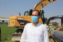 Covid-19'U Atlatan Başkan Özdemir Asbestli Boruların Değiştiği Alanlarda İnceleme Yaptı