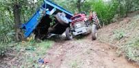 Düzce'de Tarım İşçilerini Taşıyan Traktör Devrildi Açıklaması 4 Yaralı