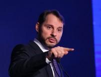 BERAT ALBAYRAK - Hazine ve Maliye Bakanı Albayrak'tan anlamlı paylaşım!