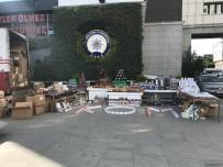 İstanbul'da Kaçak Tütün Operasyonu
