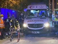 SAĞLIK EKİPLERİ - Kadıköy-Kozyatağı metro şantiyesinde feci kaza!