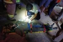 Mardin'de Okul İnşaatında Çökme Açıklaması 5 İşçi Yaralandı