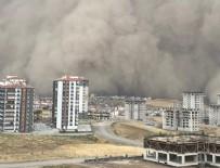 DICLE ÜNIVERSITESI - Meteoroloji'den son dakika toz fırtınası uyarısı!