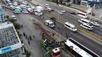 Pendik'te Devrilen Yolcu Otobüsünün Şoförü Adli Kontrol Şartıyla Serbest