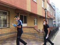 Pendik'te Korona Virüs Hastalarına Karantina  Denetimi