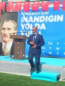 AK Parti Köprüköy İlçe Başkanlığına Rıdvan Aras Getirildi