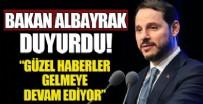 BERAT ALBAYRAK - Bakan Albayrak: Güzel haberler gelmeye devam ediyor