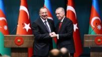 AZERBAYCAN CUMHURBAŞKANI - Erdoğan, Aliyev ile görüştü!