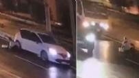 SAĞLIK EKİPLERİ - Görenler şoke oldu! Kadını otomobilden attılar!