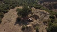 Kaçak Kazıya Drone Destekli Operasyon Açıklaması 4 Kişi Yakalandı