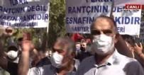 SERVİSÇİLER ODASI - Vatandaşlar daha fazla dayanamadı! CHP'li İBB önünde gergin anlar