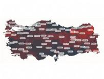SAĞLıK BAKANı - İşte Türkiye'nin yatak doluluk haritası!
