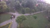 (Özel) İstanbul'da Parkta Çocuğa Hırsızlık Yaptıran Aile Görünümlü Çete Kamerada