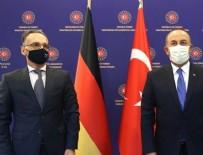 ANGELA MERKEL - Dışişleri Bakanı Çavuşoğlu Alman mevkidaşı Maas'la telefonda görüştü