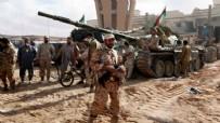 ROKETATARLAR - Libya'da alçak girişim!