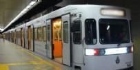 POLİS EKİPLERİ - Mecidiyeköy metroda korkunç kaza!