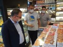 Taksim'de İş Yerleri Denetlendi