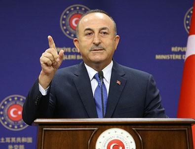 Bakan Çavuşoğlu'ndan çok net Doğu Akdeniz mesajları!