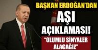 SAĞLıK BAKANLıĞı - Cumhurbaşkanı Erdoğan'dan önemli açıklamalar