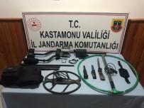 Kastamonu'da İzinsiz Kazı Yapan 8 Kişi Gözaltına Alındı
