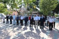 Taşova'da Fiziksel Mesafeli Ve Maskeli İlköğretim Haftası Töreni
