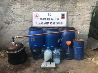 Kırıkkale'de Kaçak Rakı Operasyonu Açıklaması 950 Litre Ele Geçirildi